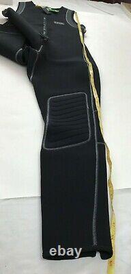 NEW NRS 3.0 Farmer John Wetsuit Titanium XL Extra Large Black