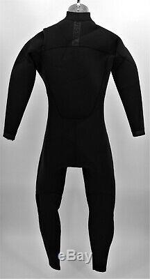 NWOT Vissla 7 Seas Black 3-2 Full Chest Zip Suit Surf Hiking Outdoors Mens Large