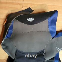 Neil Pryde Apex 5000 Men's Wetsuit 204 Large semi-dry Black / Blue 5mm 3mm