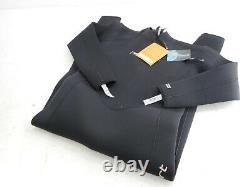 Neo-Sport Men's Premium Neoprene 5mm Full Wetsuit, Black, X-Large
