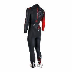 New! 2021 Aqua Sphere Racer V3 Mens Triathlon Full Wetsuit Swim Run Tri Swimwear