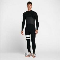 New $280 Mens Hurley Advantage Plus Wetsuit 4/3mm FS Black XS S ST MS MT LT XXL