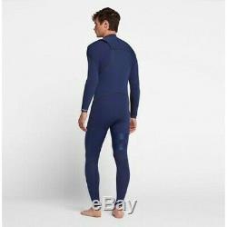 New $360 Mens Hurley Advantage Max Wetsuit 2/2mm Loyal Blue Size S MS M MT LS LT