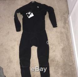 New Large Tall (LT) Black Hurley Phantom 202 fullsuit Wetsuit