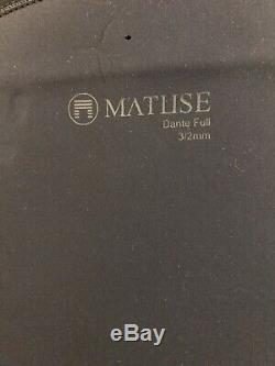 New Matuse Dante 3/2 Full Wetsuit Size Large