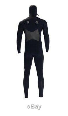 New Matuse Tumo 5/4 Hooded Extra Large Wetsuit