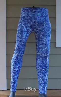 New Mens 3mm Blue Camouflage Neoprene Wetsuit Wet Suit Full Body Surfing Camo