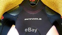 New Pinnacle Aquatics Elastiprene 5mm Suit (Female-Pink-Large)
