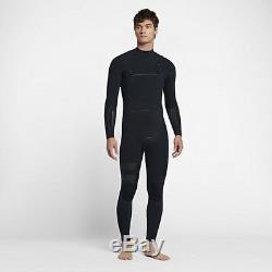 Nike HURLEY ADVANTAGE MAX 3/3MM MEN'S WETSUIT Black- Size L, L Tall Or XL