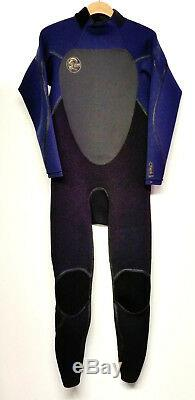 O'NEILL Men's 3/2 HEAT 3Q-Zip Wetsuit BLK/NVY Large NWT