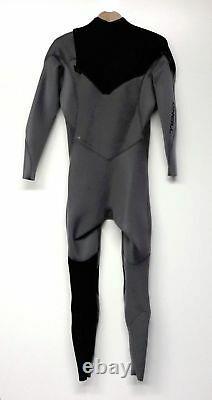 O'NEILL Men's 3/2 HYPERFREAK Zip-Free Wetsuit Smoke/Black/Smoke Large Tall