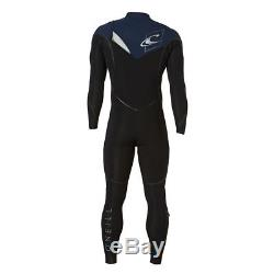 O'NEILL Men's 3.2 PSYCHO 1 Fuse Wetsuit BLK/NVY/LUNAR Large Short NWT