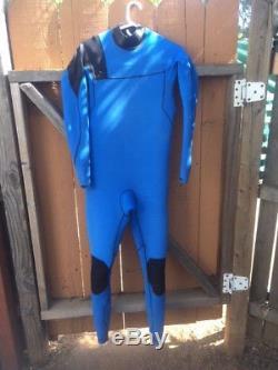 O'NEILL Men's 3.2 PSYCHO RG8 Wetsuit Men's Large Chest Zip