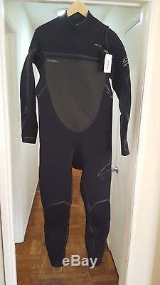 O'NEILL Men's 4.3 4/3 PYROTECH FZ Wetsuit Black XX-Large NWT