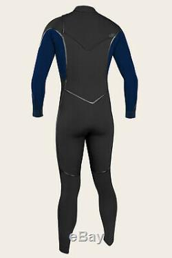 O'NEILL Men's 4/3 PSYCHO 1 Fuse Wetsuit BLK/ABYSS Size Large Short NWT