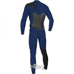 O'NEILL Men's 4.3 SUPERFREAK FZ Wetsuit Nvy/Nvy//Blk Large Tall NWT