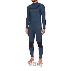 O Neill 3-2mm Psycho One Fuze Chest Zip Mens Surf Gear Wetsuit Slate/slate