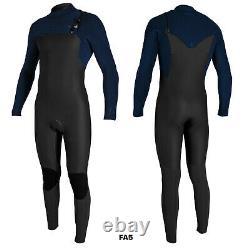 O'Neill Blueprint 5/4+mm Chest Zip Wetsuit 2021 Black / Abyss