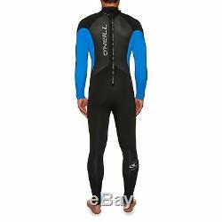 O Neill Epic 5/4mm Back Zip Mens Surf Gear Wetsuit Black Ocean All Sizes