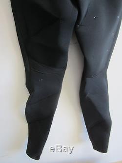 O'Neill Fusion High Performance Zen Zip 4.3mm, Ultra Flex Wetsuit, Size L Black