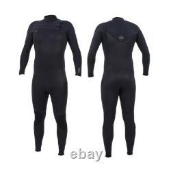 O'Neill Hyperfreak 4/3+mm Chest Zip Wetsuit Mens Winter Wetsuit 2020 Black