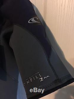 O'Neill Hyperfreak Front-Zip 2mm Short Sleeve Full Wetsuit Men's Large