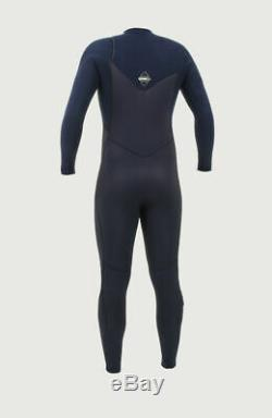O'Neill Hyperfreak Mens Wetsuit 3/2 Chest Zip Full Length Black/Abyss Large