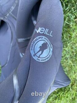 O Neill J Type Wetsuit 7MM Size Large