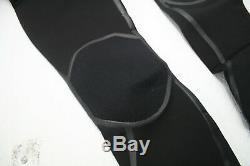 O'Neill Men's Mutant 4/3mm Chest Zip Full Neoprene Wetsuit w Hood Black Large