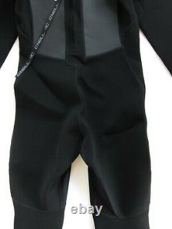 O'Neill Men's Reactor-2 3/2mm Back Zip Full Wetsuit Black / Black LARGE
