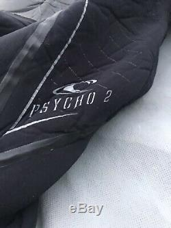 O'Neill Mens Full Wetsuit Size Large L Psycho 2 Diving 6/4 mm With Hood Nice