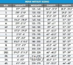 O'Neill Mutant Legend 4.5/3.5mm CZ Wetsuit Men's X-Large, Black