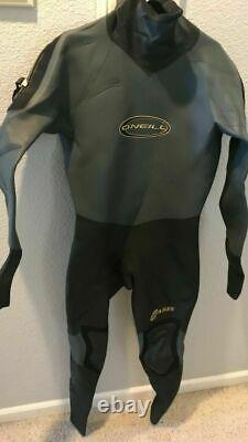 O'Neill Oasis Dry Suit Large or Extra Large XL 4/3 mm for cold weather exc cond
