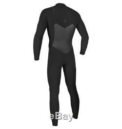 O'Neill Original FUZE 4/3mm FZ Wetsuit Men's Black/Black Large