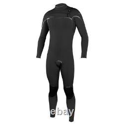 O'Neill Psycho One 3/2MM Chest Zip Men's Wetsuit (Black/Black)