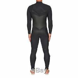 O Neill Psycho Tech 4/3 + Chest Zip Full Mens Surf Gear Wetsuit Black