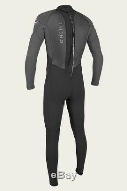 O'Neill Reactor 3/2mm Full Wetsuit Men's Black/Graphite Large