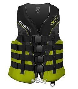 O'Neill Wetsuits Wake Waterski Mens Superlite USCG Nylon Life Vest 3X-Large