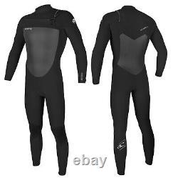 ONeill Epic 3/2mm Mens Chest Zip Wetsuit Full Length Wetsuit 2020 Black/Black