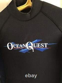 Ocean Quest 7mm Titanium Men's Large Wetsuit