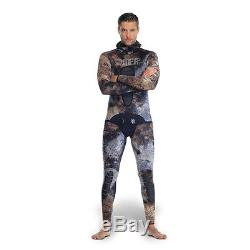 Omer Sub Wetsuit MIX Camo Camu 3d 5mm Freediving Spearfishing Scuba 4d
