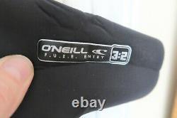 Oneill Wetsuit, Men's Full Suit, Model SuperFreak 3/2 Neoprene, Size Large