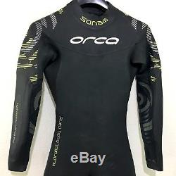 Orca Mens Sonar FullSleeve Triathlon Wetsuit Size 8 (Large) Retail $449