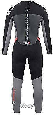 Osprey Men's Full Length Wetsuit 5 Mm Red Small WS0643