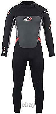 Osprey Men's Full length 5MM Wetsuit Red Small
