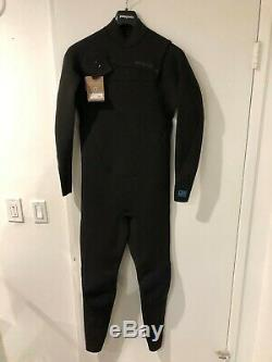 Patagonia Men's R1 Lite Yulex Black Wetsuit Full Suit Front-Zip FZ Men's Large L