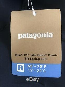 Patagonia R1 Lite Yulex Front-Zip Spring Wetsuit Men's Large