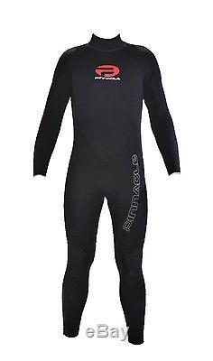 Pinnacle Cruiser 7mm Full Scuba Diving Wetsuit Men's Black