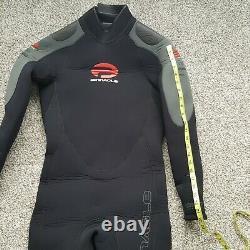 Pinnacle Merino Elastiprene 7mm Men's Scuba Diving Full Wetsuit Medium Large NEW