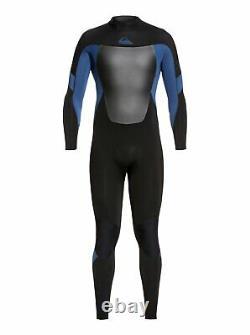 QUIKSILVER Men's 3/2 SYNCRO BZ Wetsuit XKBK Large NWT